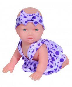 Brinquedo Boneca Bebê Gatinhando Adijomar