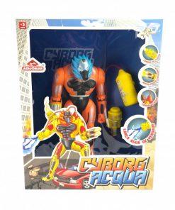 Brinquedo Cyborg Acqua Adijomar