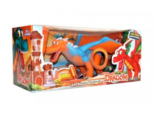 Brinquedo Dragon Novo Amigo Adijomar