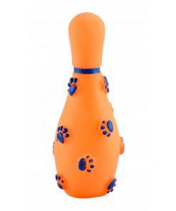 Brinquedo Pet Boliche De Borracha